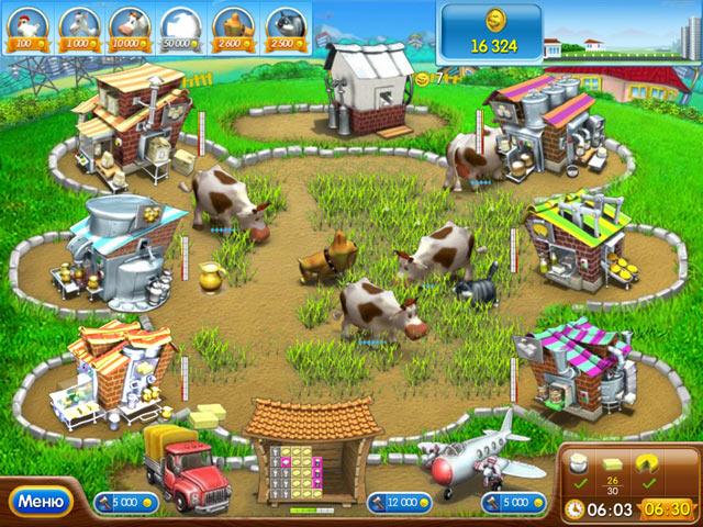 Игра Веселая ферма  Печем пиццу | Скачать мини-игру Farm